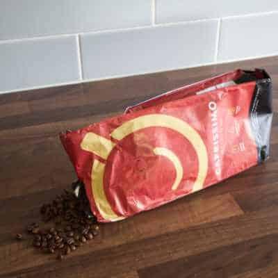 A bag of Caprissimo Belgique Coffee Beans