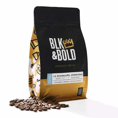 Blk & Bold La Guadalupe Honduras Single Origin Fair Trade Certified Light Roast