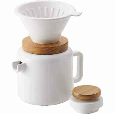 BonJour 4-Cup Pour Set Stoneware Coffee Maker