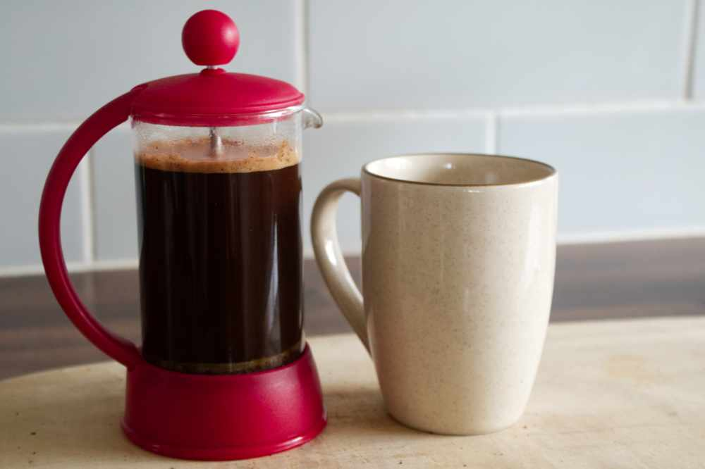 Caprissimo Italiano coffee brewed French Press Style