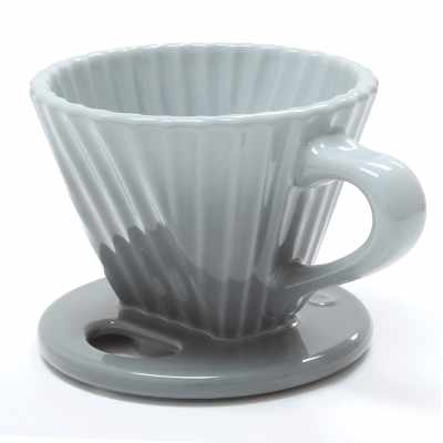 Chantal Lotus ceramic pour over coffee dripper