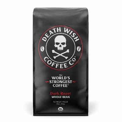 DEATH WISH COFFEE Whole Bean Coffee