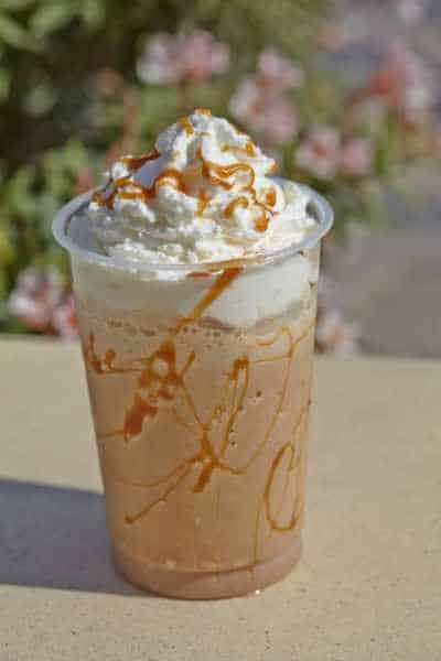 Dunkin Donuts Caramel Mocha Latte