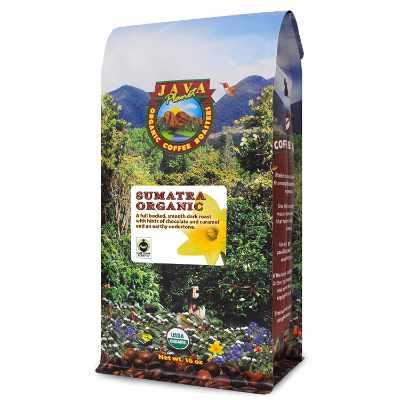 Java Planet Organic Coffee Beans Sumatra Indonesia Single Origin