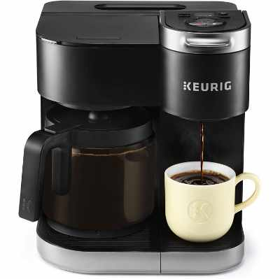 Keurig K-Duo Coffee Maker Single Serve and 12-Cup Carafe Drip Coffee Brewer