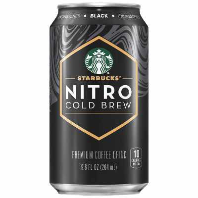 Starbucks Nitro Cold Brew Black Unsweetened