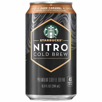Starbucks Nitro Cold Brew Dark Caramel