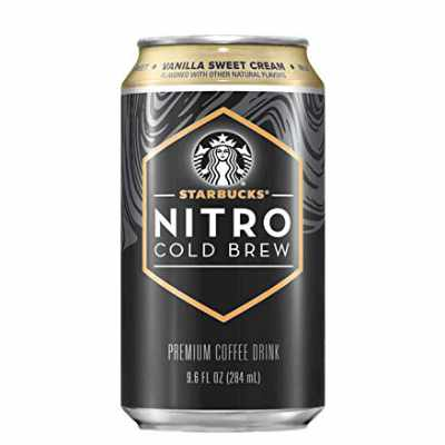Starbucks Nitro Cold Brew Vanilla Sweet Cream