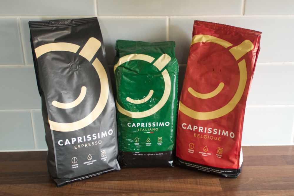 Three Bags of Caprissimo Coffee
