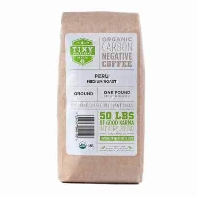 Tiny Footprint Coffee - Peru Medium Roast Carbon Negative