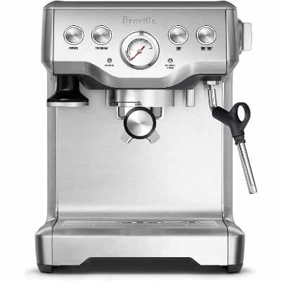 Breville BES840XL Infuser Espresso Machine Brushed Stainless Steel